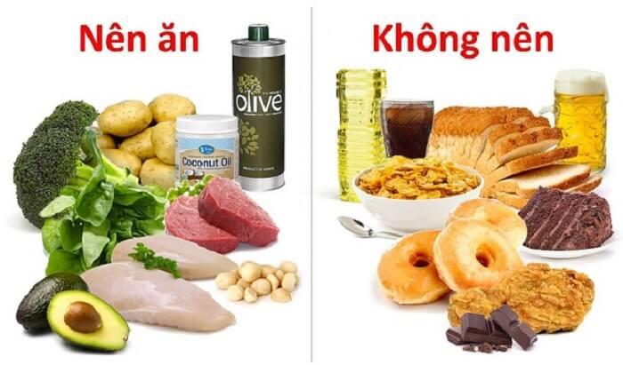 Chế độ dinh dưỡng giúp giảm mỡ bắp tay