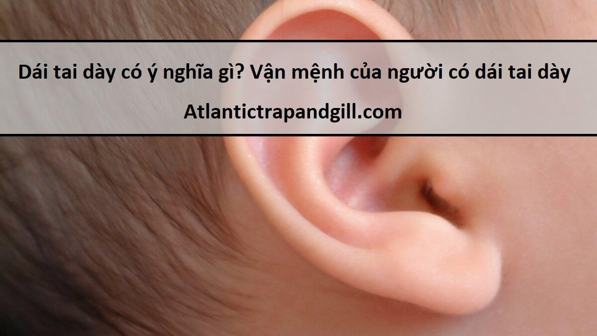 Dái tai dày có ý nghĩa gì? Vận mệnh của người có dái tai dày