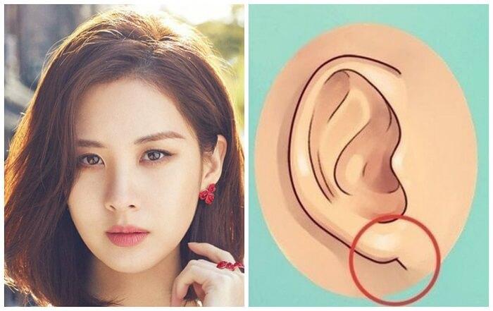 Nữ có dái tai dày thường mang nhiều phúc khí