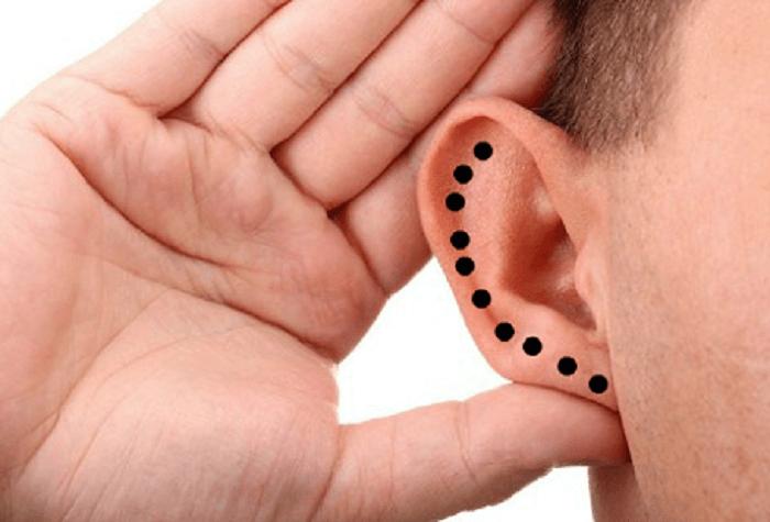 Xem vận mệnh dựa trên vành tai